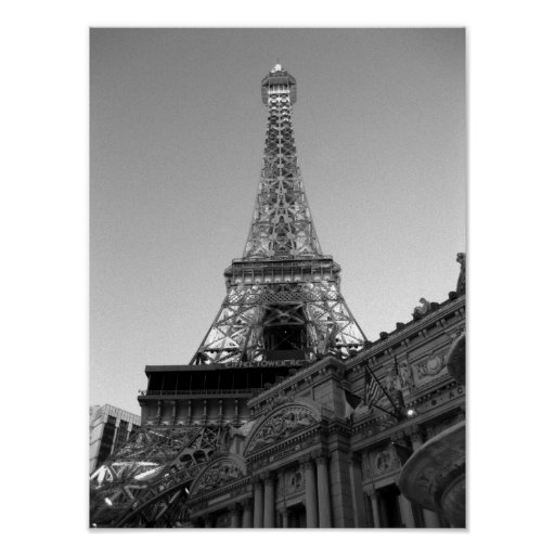 The Eiffel Tower Las Vegas Poster