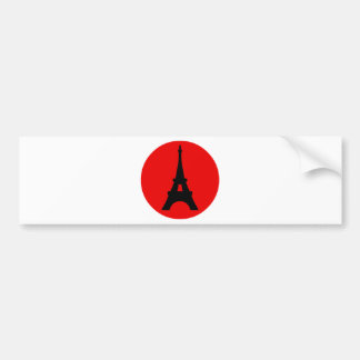 The Eiffel Tower, Paris, France Bumper Sticker