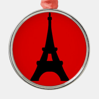 The Eiffel Tower, Paris, France Christmas Ornament