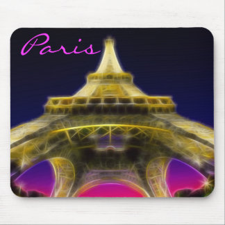 The Eiffel Tower, Paris, France Mouse Mat
