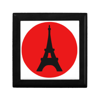 The Eiffel Tower, Paris, France Small Square Gift Box