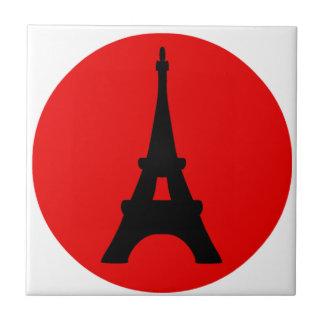 The Eiffel Tower, Paris, France Tile