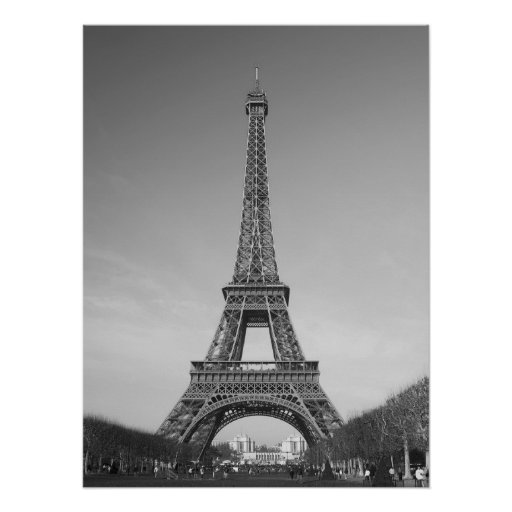 The Eiffel Tower Poster Print