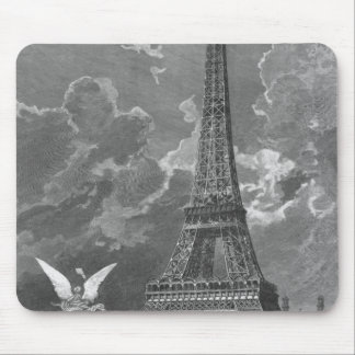 The Eiffel Tower  Universal Exhibition Mouse Mat