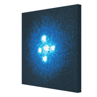 The Einstein Cross Gallery Wrap Canvas