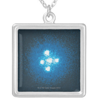 The Einstein Cross Silver Plated Necklace