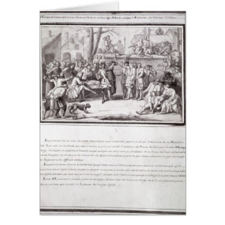The Election of the Militia Greeting Cards