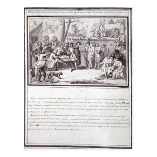 The Election of the Militia Postcard