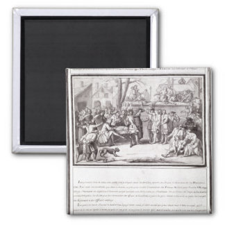 The Election of the Militia Square Magnet