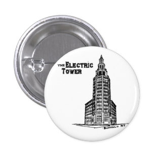 the Electric Tower 3 Cm Round Badge