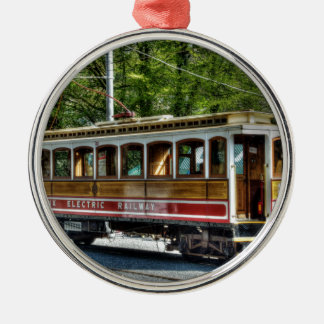 The Electric Tram Christmas Ornament