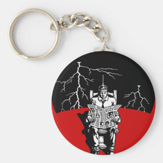 The Electrical Chair Key Ring