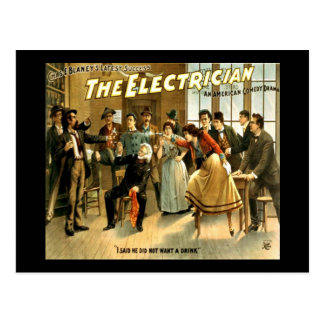 The Electrician Postcard