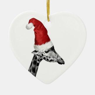 The Elegance of the Christmas Giraffe Christmas Ornament
