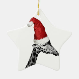 The Elegance of the Christmas Giraffe Christmas Ornament
