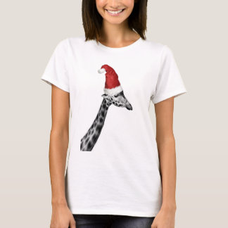 The Elegance of the Christmas Giraffe T-Shirt
