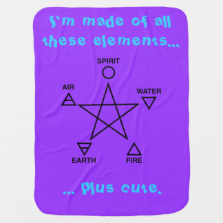 The Element of Cute Baby Wicca Blanket Stroller Blankets
