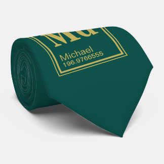 The Element of You! Custom Name Periodic Pine Tie