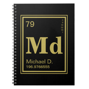 Periodic table gifts gift ideas zazzle uk the element of you custom name periodic table notebook urtaz Images