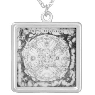 The Elemental Composition of the World Silver Plated Necklace