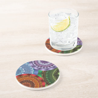 The Elements Mandalas Coaster