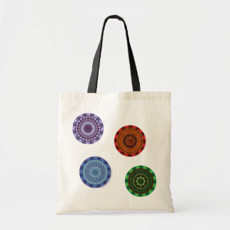 The Elements Mandalas Light Tote Bag