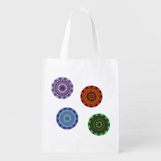 The Elements Mandalas Reusable Grocery Bag