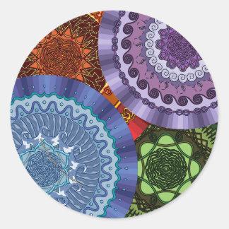 The Elements Mandalas Sticker