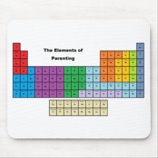 """""""The Elements of Parenting"""" Mousepad"""