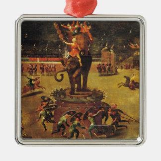 The Elephant Carousel Christmas Ornament