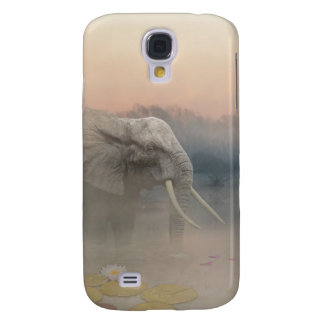 The elephant galaxy s4 case