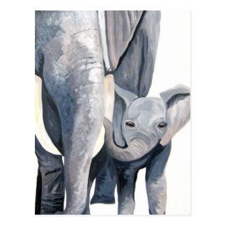 The Elephants ! (Kimberly Turnbull Art) Post Cards