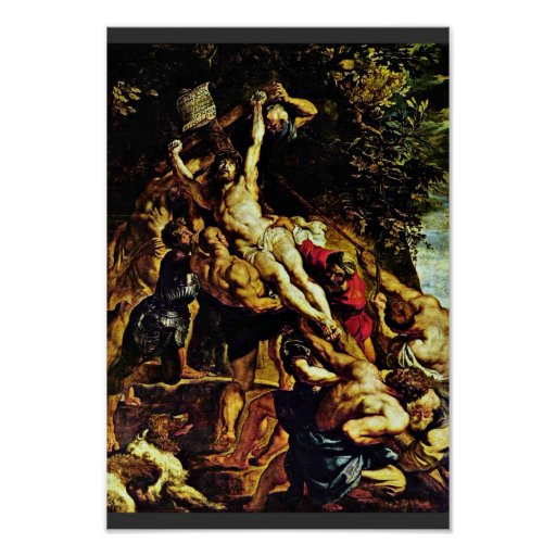 The Elevation Of The Cross By Rubens Peter Paul Poster