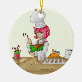 The Elf Baker Ornament