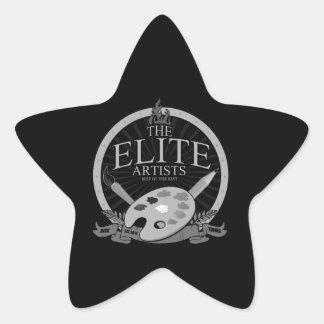 The Elite Artists Star Sticker
