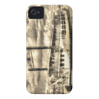 The Elizabethan Paddle Steamer iPhone 4 Cover