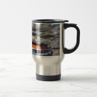 The Elizabethan Paddle Steamer Coffee Mug