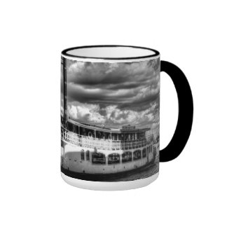 The Elizabethan Paddle Steamer Coffee Mugs