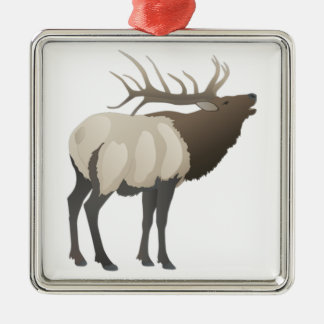THE ELK BUGLES CHRISTMAS ORNAMENT