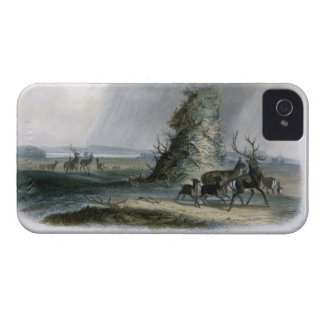 The Elkhorn Pyramid on the Upper Missouri, plate 2 iPhone 4 Case-Mate Case