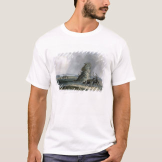 The Elkhorn Pyramid on the Upper Missouri, plate 2 T-Shirt
