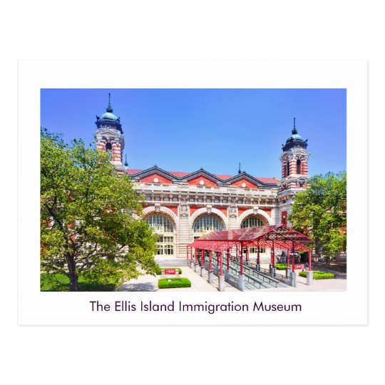 The Ellis Island Immigration Museum Postcard
