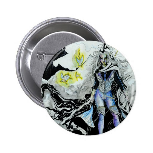 The Elven Wizard Buttons