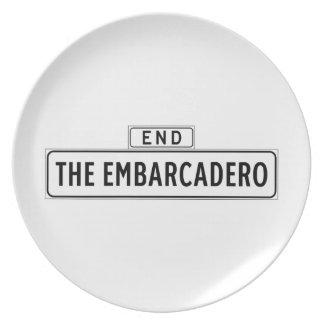 The Embarcadero, San Francisco Street Sign Plate