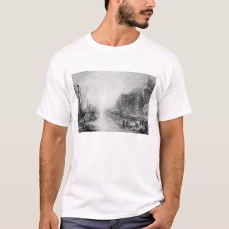 The Embarkation of Regulus, Ancient Carthage, engr T-Shirt
