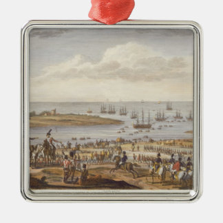The Embarkation of the English in Holland, 30 Nove Christmas Ornament