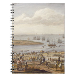 The Embarkation of the English in Holland, 30 Nove Spiral Notebooks