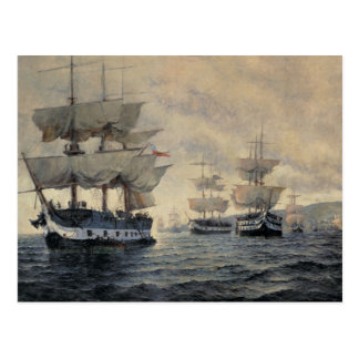 The Embarkation of the Liberating Expedition of Pe Postcard