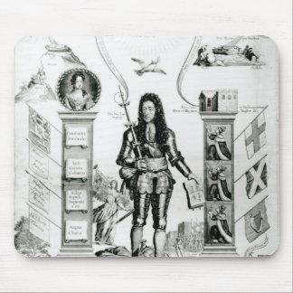 The Emblem of England, October 1690 Mouse Mat