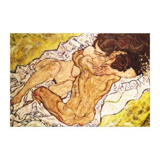 The Embrace, 1917 Canvas Print